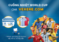 Cuong nhiet World Cup cùng VeXeRe.com