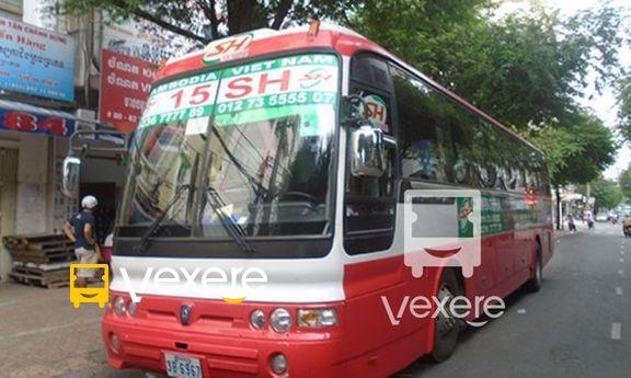 Xe 15 SH Co.ltd chạy tuyến Sài Gòn Tây Ninh