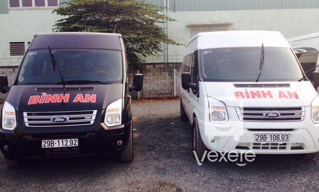 Xe Bình An - VeXeRe.com