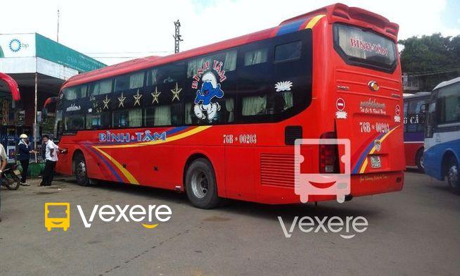 Xe Bình Tâm – Giá vé, số điện thoại, lịch trình | VeXeRe.com