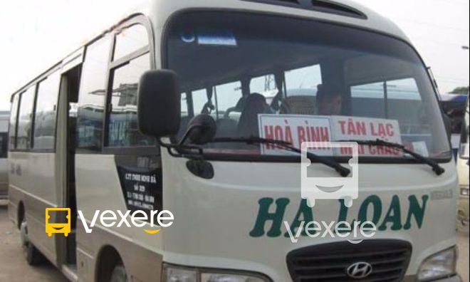 Image result for Xe Hà Nội Hòa Bình - Hà Loan