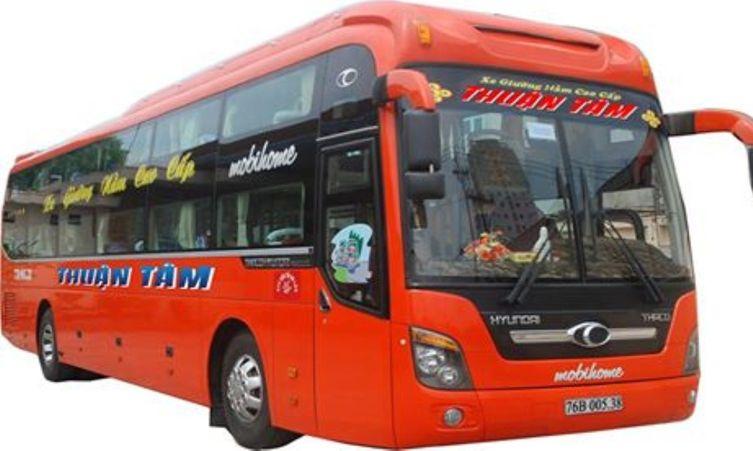Xe Thuận Tâm đi Bình Định từ Sài Gòn