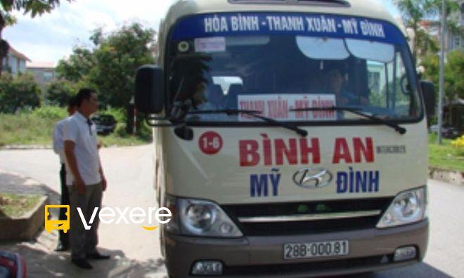 Image result for Xe đi Hòa Bình từ Hà Nội - Bình An vexere