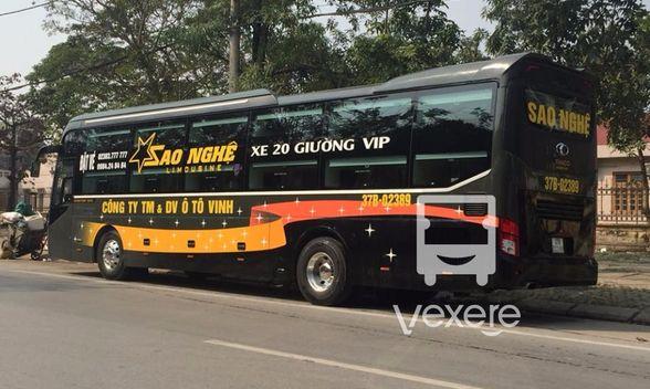 xe limousine đi Vinh từ Hà nội