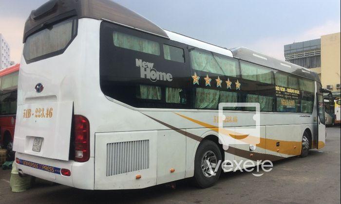 Xe Thu Thiên Trang đi Bình Định từ Sài Gòn