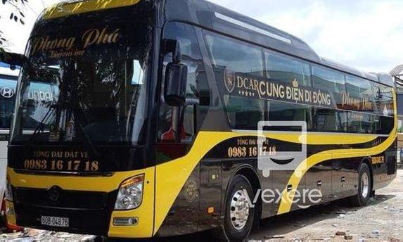 Xe Phong Phú – Giá vé, số điện thoại, lịch trình | VeXeRe.com
