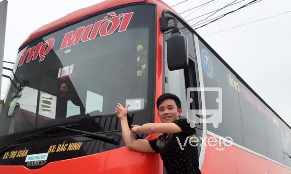 Xe Thọ Mười đi BÌnh Định từ Sài Gòn