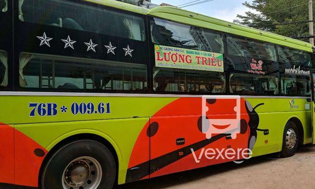 Xe Lượng Triều đi Nha Trang