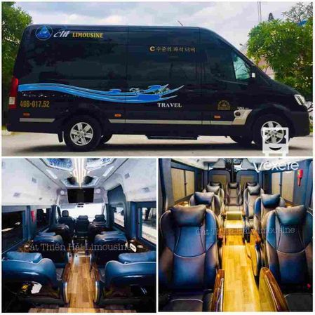 Limousine 12 chỗ Massage Catthienhai Travel