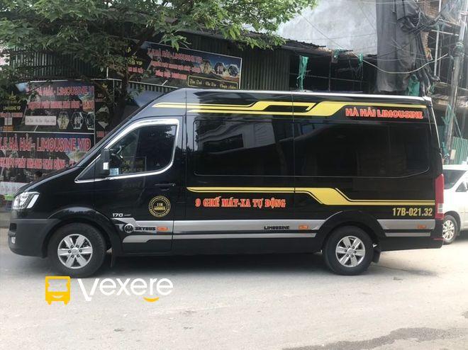 Dàn xe Limousine Hà Nội Thái Bình mới đẹp