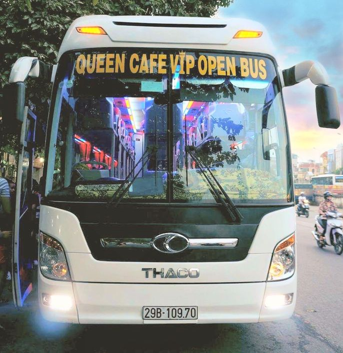 Xe Queen Cafe Giường nằm 38 chỗ WC